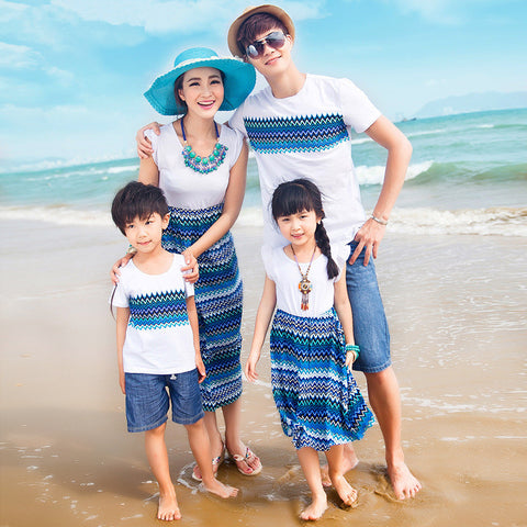Family Clothing Bohemian Dresses