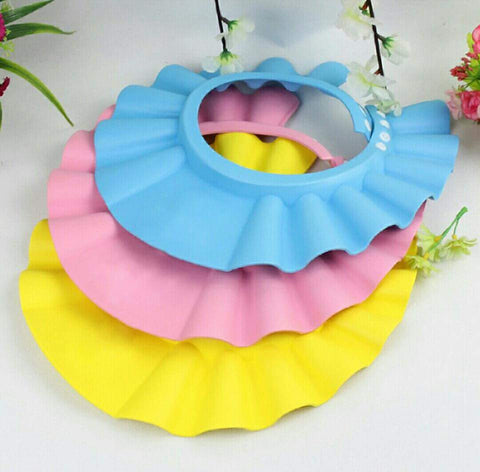 Baby Shower Bathing Protect Soft Cap for Baby, Children & Kids Baby Essentials- Available online on Buyvel