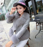 Fur Jacket GREY Winter Wear- Available online on Buyvel