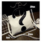 The Q mark ?? Hand cum Shoulder Bag Creative Bags- Available online on Buyvel