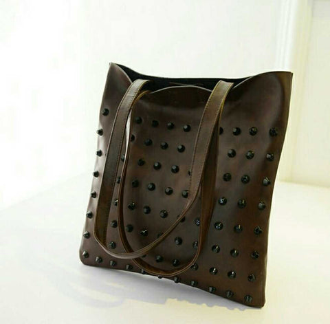 Rivet TOTE Shoulder & Hand Bag