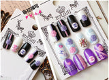 Elegent Adhensive Love Nail Art Set Of 2 Nail Art- Available online on Buyvel