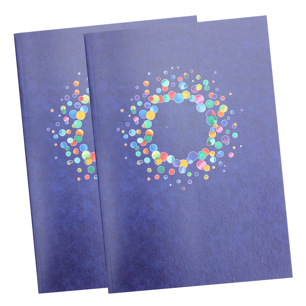 Two pack A5 Amethyst Notebooks