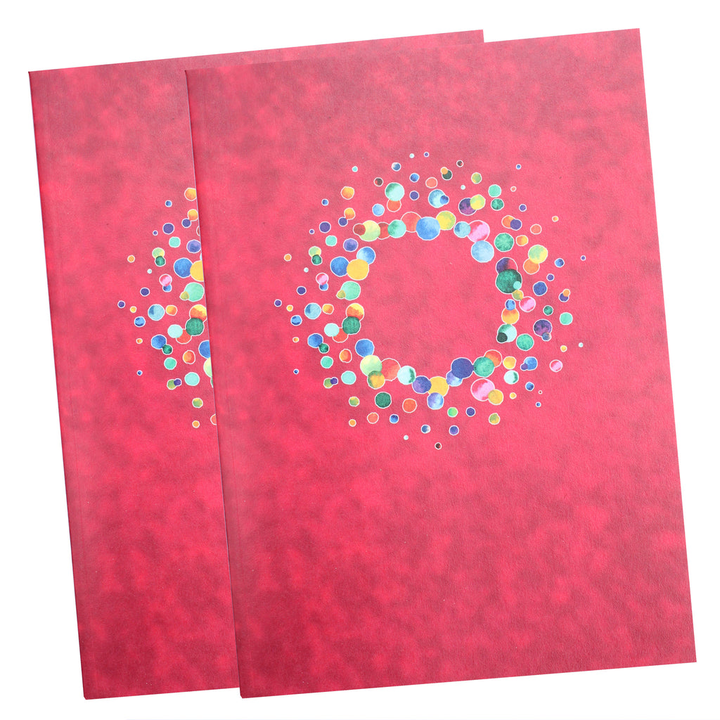 Two pack A5 Fuchsia Notebooks
