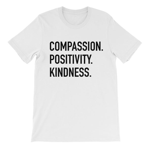 Compassion Positivity Kindness Tee