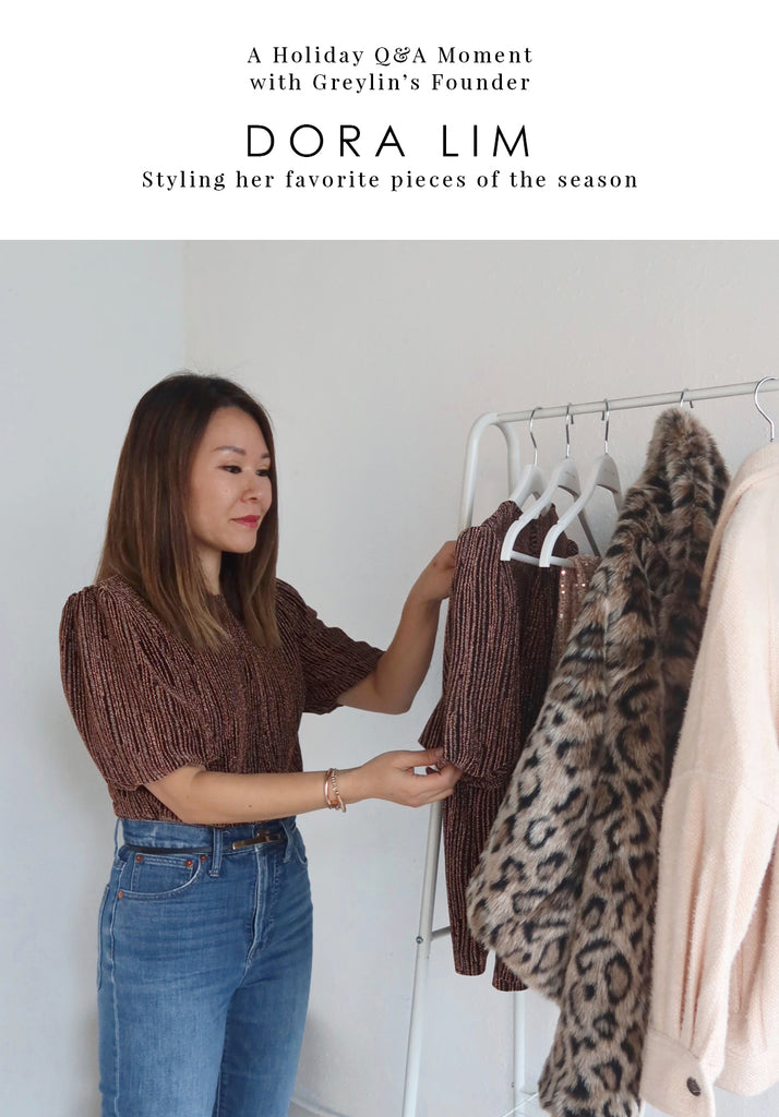 A Holiday Q&A Moment With Greylin's Founder: Dora Na Lim