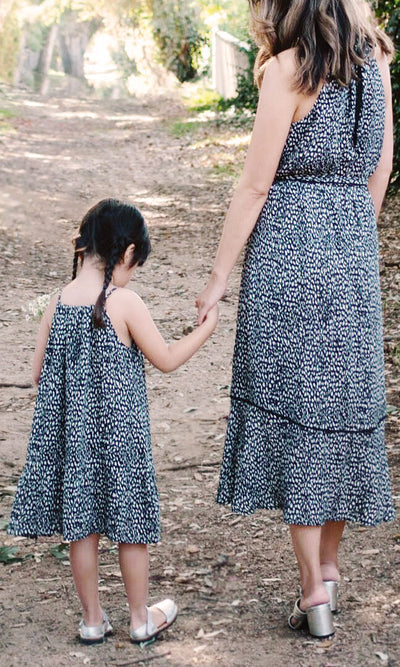 halter dress mommy and me matching outfit mothers day