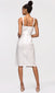 women's white sleeveless midi dress