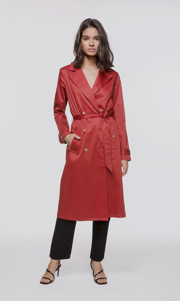 Magnolia Trench Coat