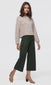 Maggs Brushed Boucle Culotte Pants