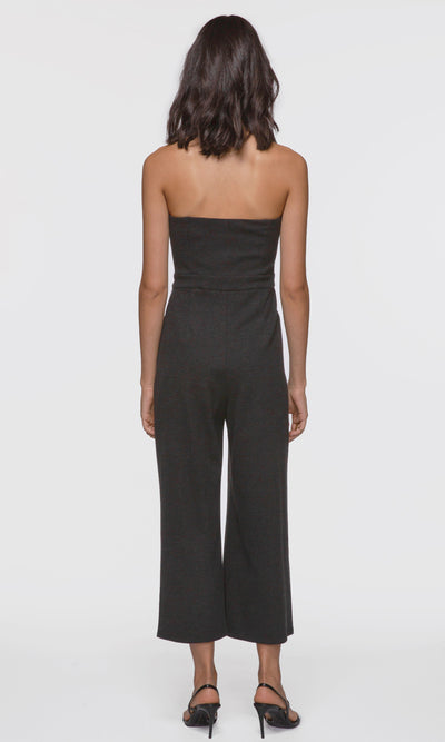 Maya Strapless Corduroy Stretch Jumpsuit