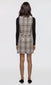 Giana Tweed Dress W/ Fringe Trim