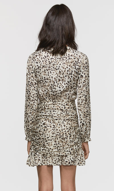 Tamara Leopard Print Mini Dress