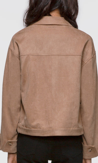 Essex Vegan Suede Jacket