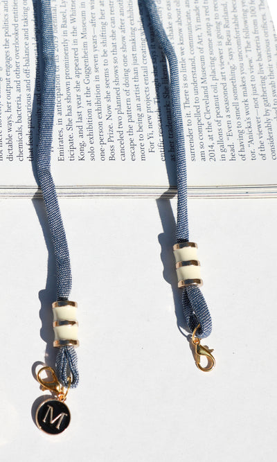 14k Gold Plated Face Mask Lanyard - Luxury Gold Lanyard | Greylin