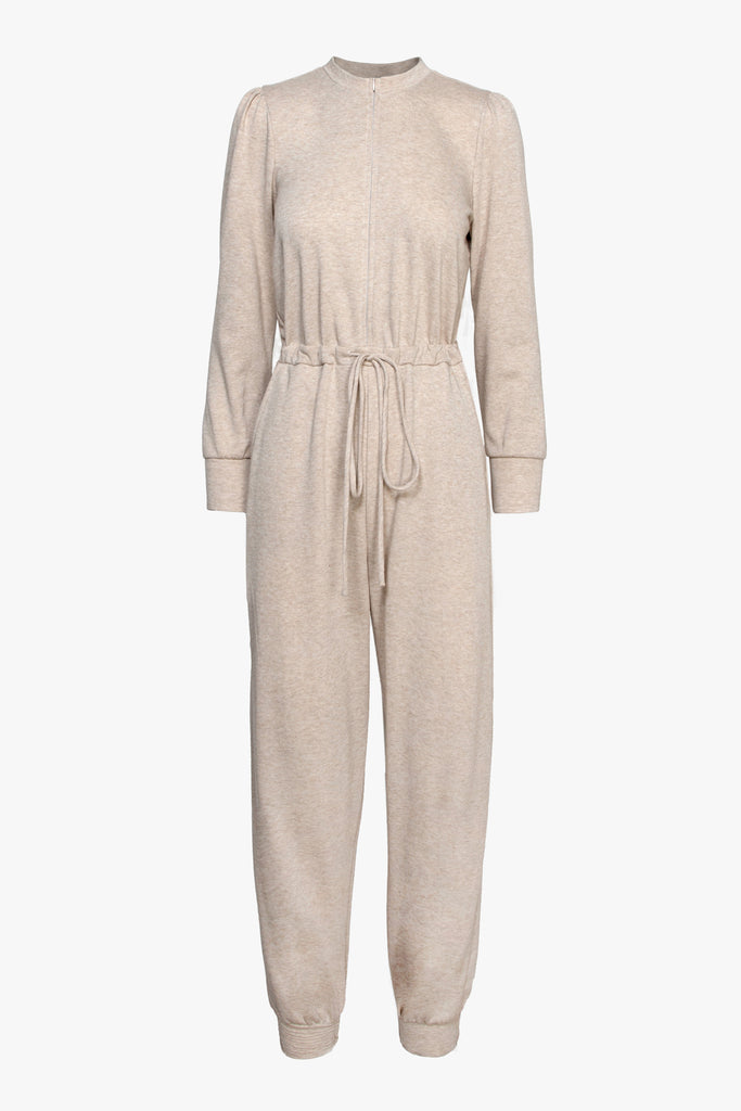 Tress Jogger French Terry Jumpsuit
