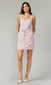 contemporary women's linen lilac dress