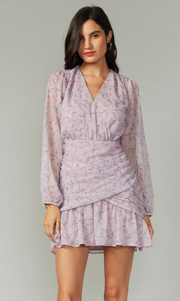 Tarama Crinkled Georgette Dress