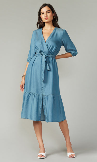 Lanis Tencel Midi Dress
