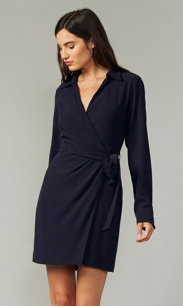 Selene Textured Shirtdress