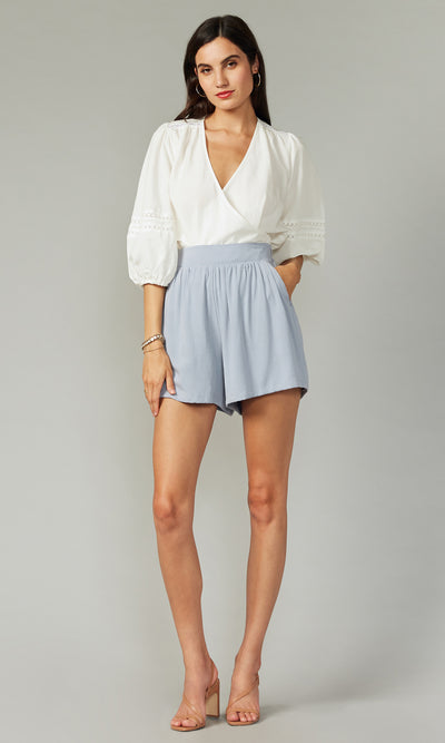 Virginia Textured Shorts