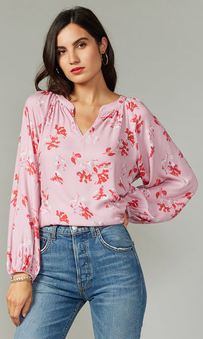 Ava Valentine Long Sleeve Blouse
