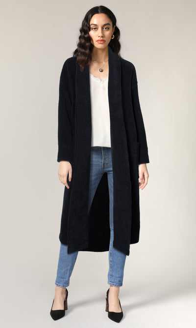 Libby Shawl Collar Soft Coat