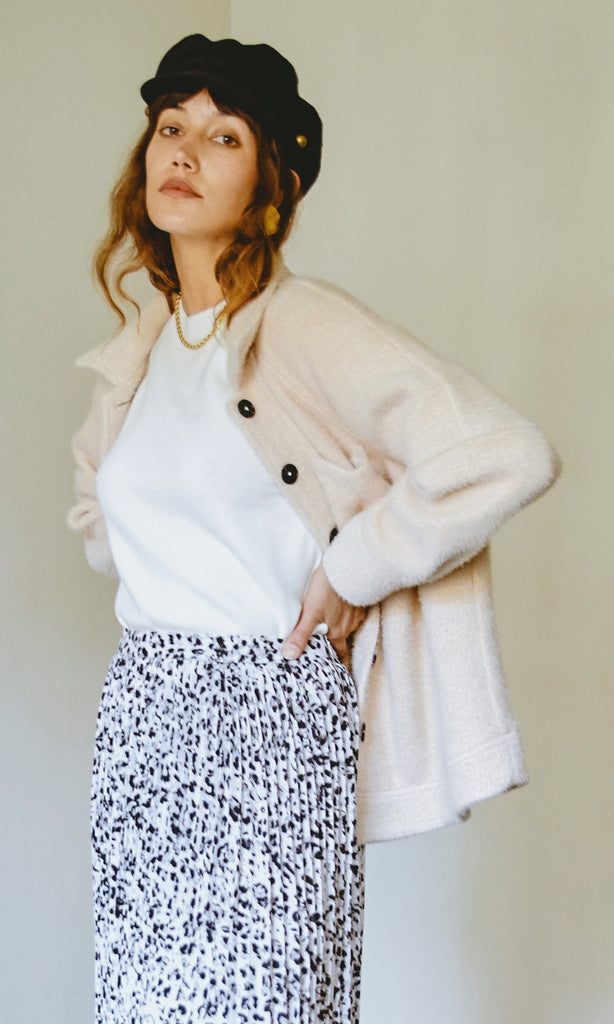 Lydia Oversized Cozy Shirt Jacket