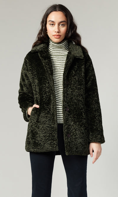 Dustin Faux Fur Soft Coat