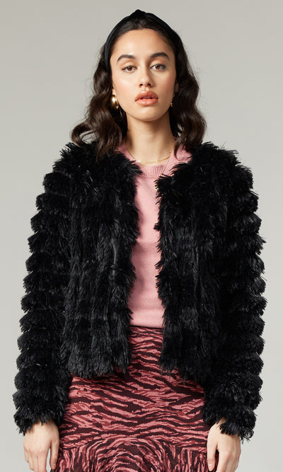 Natalia Faux Fur Soft Jacket