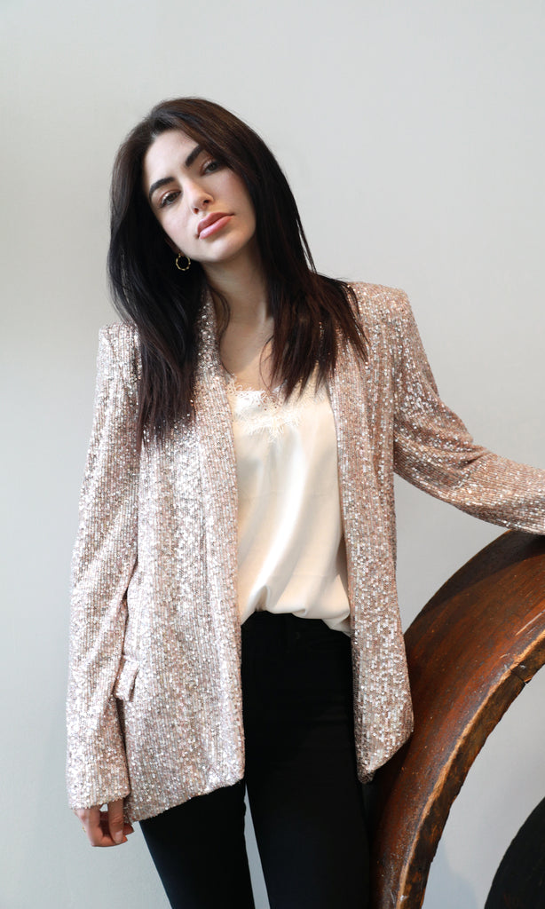 Danni Mini Sequins Blazer
