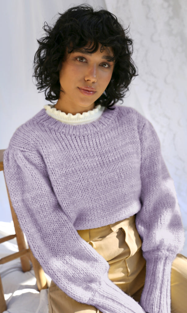 Gracey Pouf Sleeve Sweater