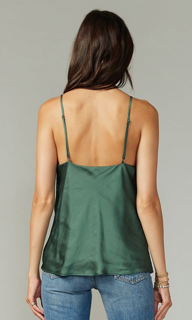 Keva Cowl Neck Cami Top