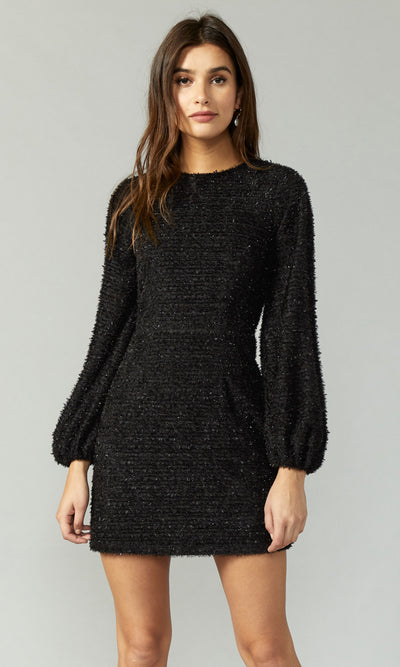 Josie Ribbon Knit Long Sleeve Dress