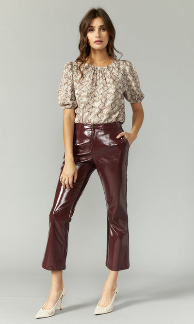 Willow Vegan Leather Pants