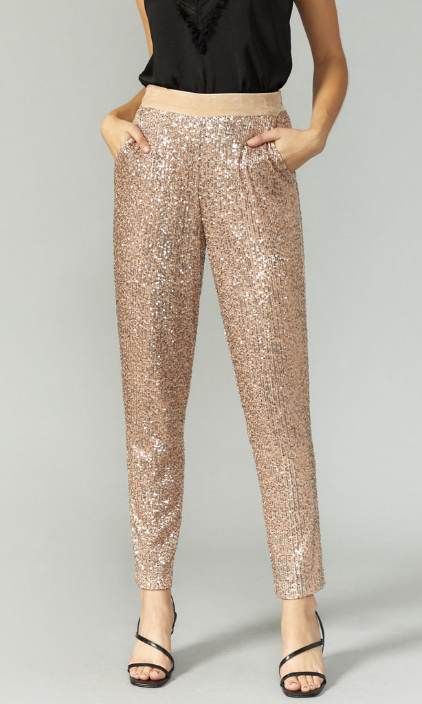 Ulma Mini Sequins Pants