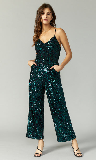 Dylan Mini Sequins Jumpsuit