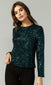 Millie Mini Sequins Long Sleeve Blouse