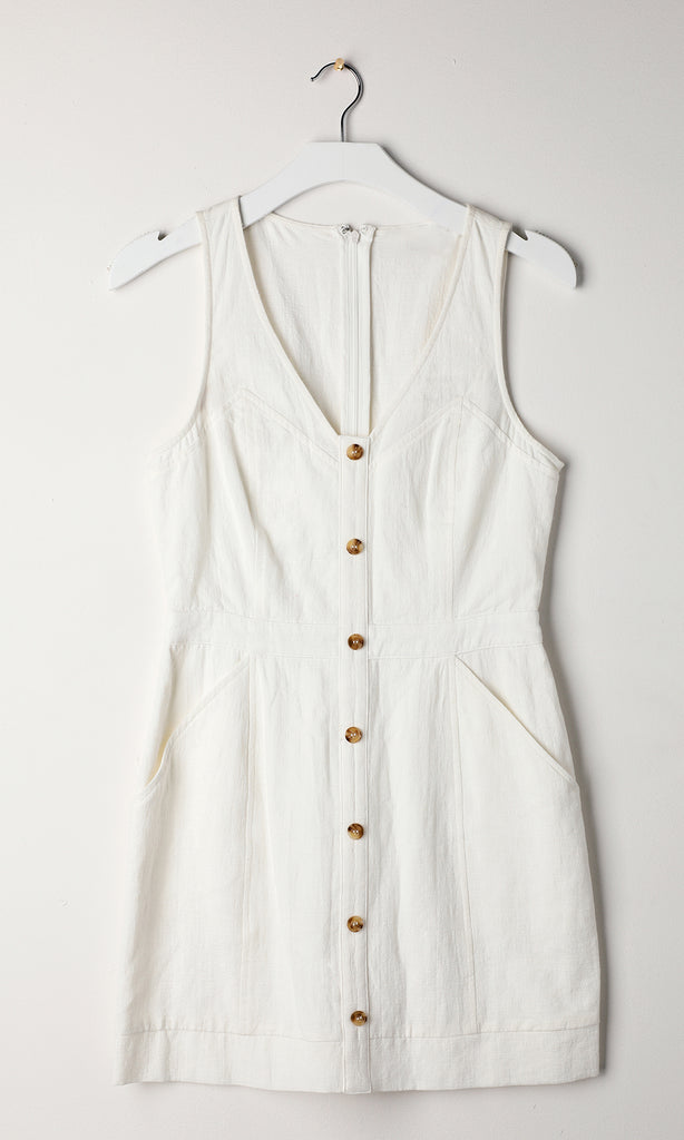 Althea Button-Up Dress
