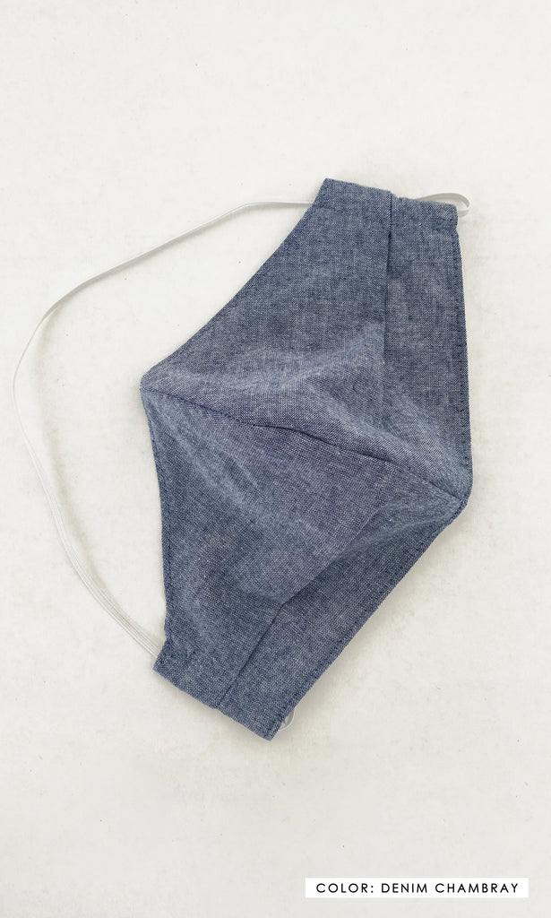 Large Fit Cotton Face Mask - The Mason Reusable Face Mask