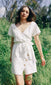 summer white dress for women linen