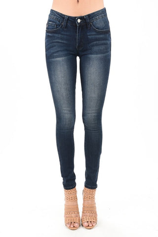 "KanCan Ankle Skinny Jeans ""Sarah"" Non-Distressed"