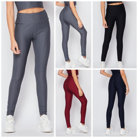 Honeycomb Leggings Active Wear