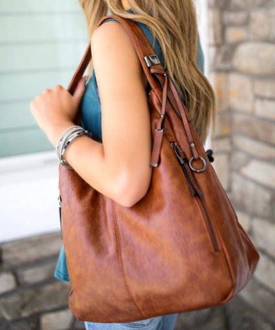 """Journee"" Boho Purse Bag in Multiple Colors"