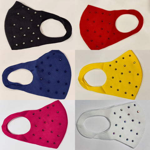 Bling Adult Face Mask in a Variety of Colors