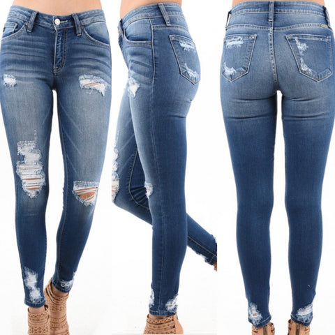 KanCan Camille Distressed Jeans