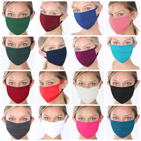 Cotton/Poly Solid Masks