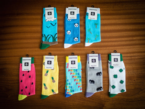 Bundle Deal (8 socks. Designs may be picked)