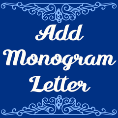 Add a monogram letter