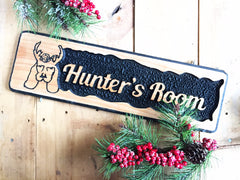 Rustic Farmhouse Wood Child's Name Sign